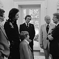 Jimmy Carter With Johnny Cash by Everett