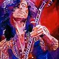 Jimmy Page by David Lloyd Glover