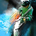 Jimmy Page Lost In Music by Miki De Goodaboom