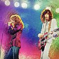 Jimmy Page - Robert Plant by Zapista Zapista