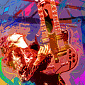 Jimmy Page Stairway To Heaven by David Lloyd Glover