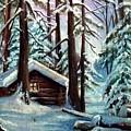 Jimmy's Cabin by Janet Lavida