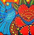 Jinga Bird - Jinga Bird Series by Fareeha Khawaja