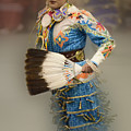 Pow Wow Jingle Dancer 7 by Bob Christopher