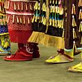 Pow Wow Jingle Dancers 2 by Bob Christopher