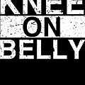 Jiu Jitsu Bjj Knee On Belly Light by J P