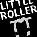 Jiu Jitsu Bjj Little Roller White Light by J P