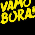 Jiu Jitsu Design Vamo Bora Yellow Light Martial Arts by J P