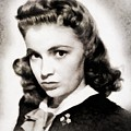 Joan Leslie, Vintage Actress by John Springfield