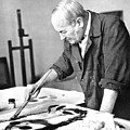 Joan Miro (1893-1983) by Granger