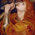 Joan Of Arc by Dante Charles Gabriel Rossetti