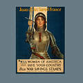 Joan Of Arc World War 1 Poster by Frederick Holiday