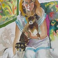 Joann And Her Pets by Diane Renchler