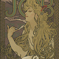 Job, 1896 by Alphonse Marie Mucha