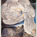 Job Confessing His Presumption To God Who Answers From The Whirlwind by William Blake