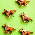 Jockeys And Horses by Jorgo Photography - Wall Art Gallery