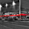 Joe Louis Arena Detroit Mi by Nicholas  Grunas