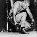 Joe Louis Last Professional Boxing by Everett