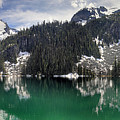 Joffre Lake Middle Panorama B.c Canada by Pierre Leclerc Photography