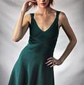 Johanne In Green by Gregory Daley  MPSA