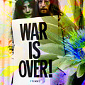 John And Yoko - War Is Over by Andrew Osta