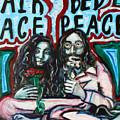 John And Yoko by Hannah Curran