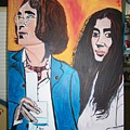 John And Yoko Ono by Jeffrey Foti
