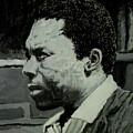John Coltrane by David Bromley