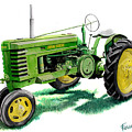 John Deere Tractor by Ferrel Cordle