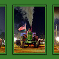 John Deere Tractor Pull Poster by Olivier Le Queinec