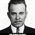 John Dillinger - Bank Robber And Gang Leader by Daniel Hagerman