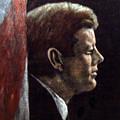 John F. Kennedy by Norman F Jackson
