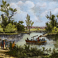 John Fitch Steamboat, 1796 by Granger