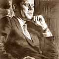 John Fitzgerald Kennedy by Ylli Haruni