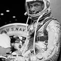 John Glenn Wearing A Space Suit by War Is Hell Store
