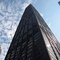 John Hancock Center And Surrounding Buildings by Ben Schumin