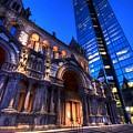 John Hancock Tower Trinity Church Boston Ma by Toby McGuire