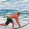 John John Florence - Surfing Pro by Scott Cameron