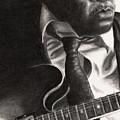 John Lee Hooker by Kathleen Kelly Thompson
