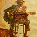John Lee Hooker by Michael Facey