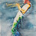 Miles Davis by Robert Nipper