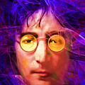 John Lennon Imagine 20160521 Square V3 by Wingsdomain Art and Photography