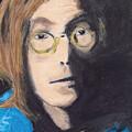 John Lennon Pastel by Jimi Bush