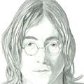 John Lennon Portrait by Seventh Son
