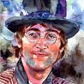 John Lennon Portrait by Suzann Sines
