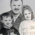 John Megan And Joey by Stan Hamilton