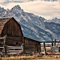 John Moulton's Barn by Lana Trussell