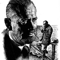 John Steinbeck by Don Locke