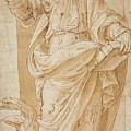 John The Baptist by Ottavio Semino
