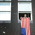 John Waves His Flag 3 by Jez C Self